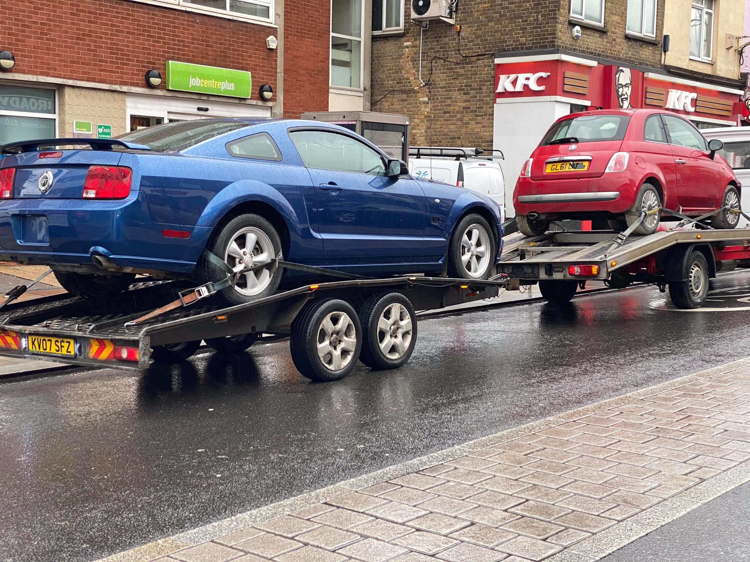 White Recovery Says Traffic in London Slowly Coming Back