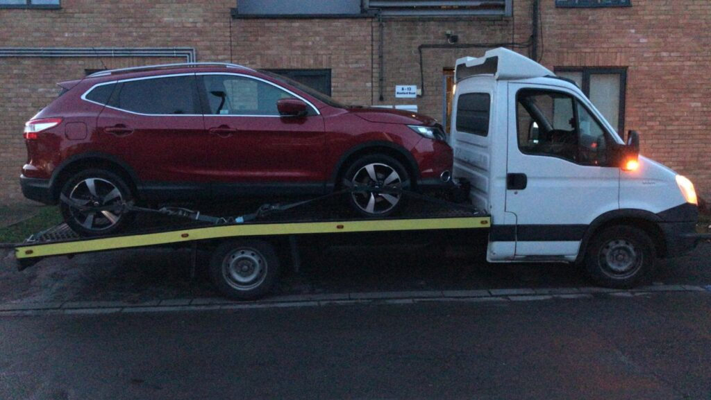 Car Breakdown Recovery and Towing in Romford, RM7